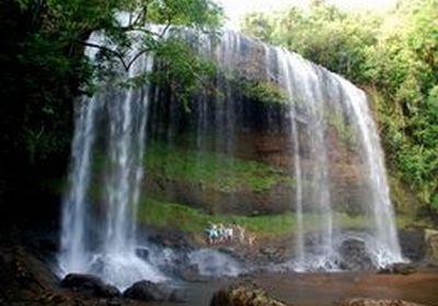 サンライズ ガラツマオの滝