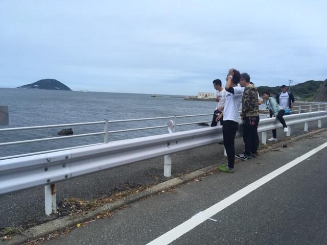クサフグ産卵 志賀島