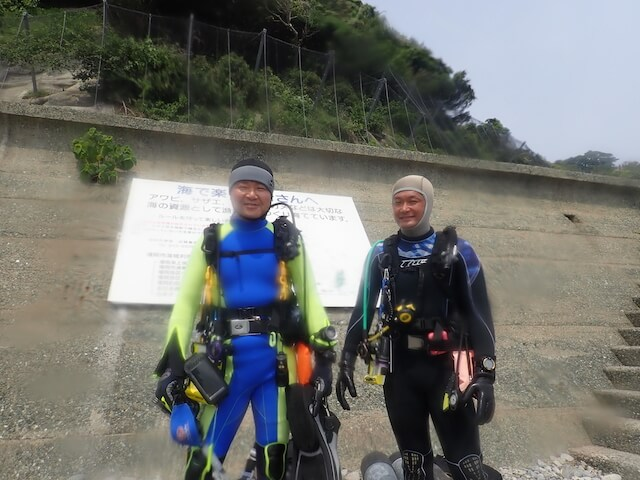志賀島ダイビング