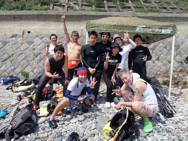 志賀島 ダイビング