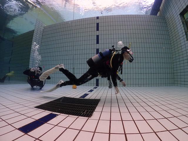 ダイブショップサンライズ 泳ぎ