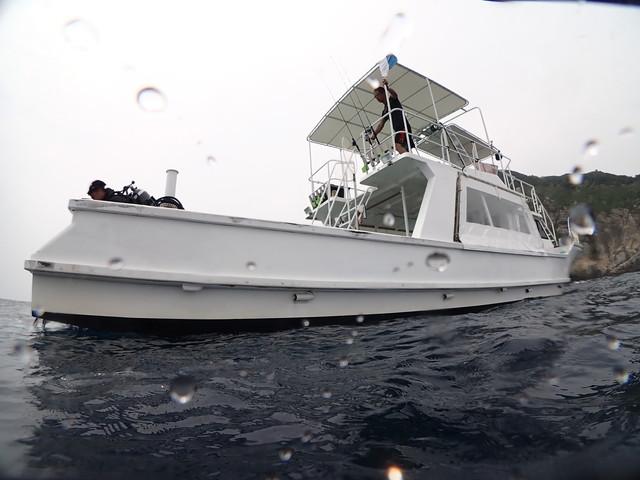 ダイブショップサンライズ 船