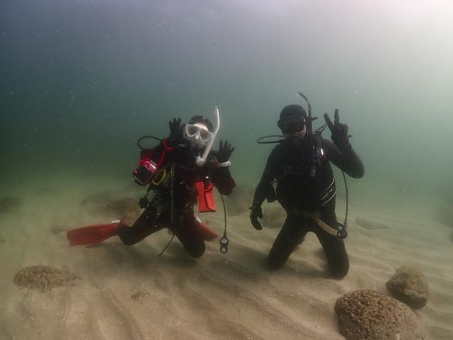 ダイブショップサンライズ 志賀島ダイビング