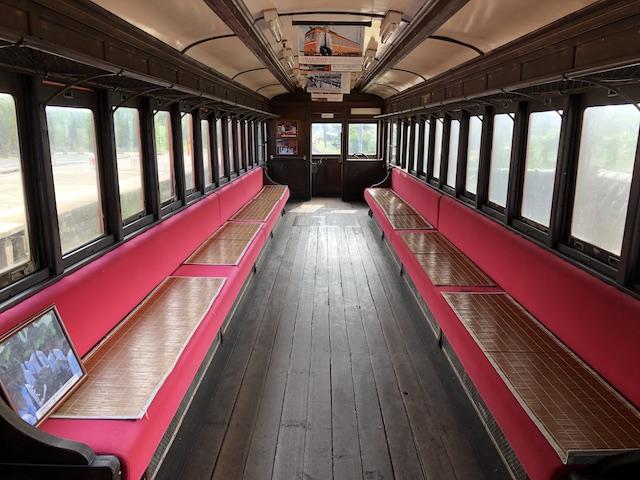 ダイブショップサンライズ 電車