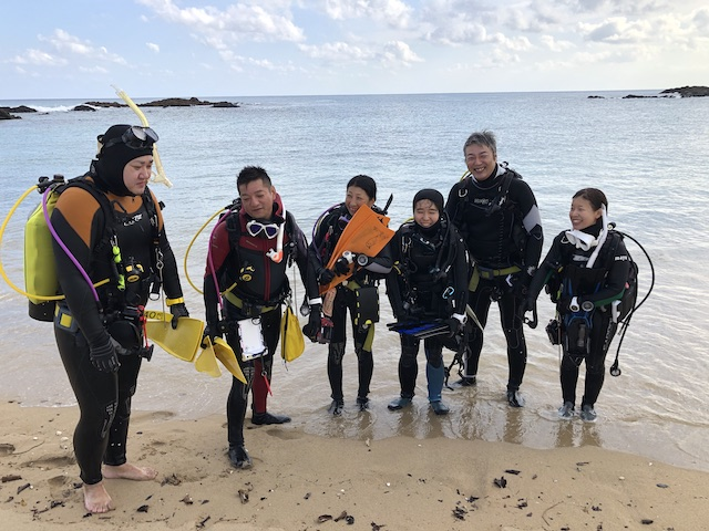 ダイブショップサンライズ 奄美大島 ダイビング