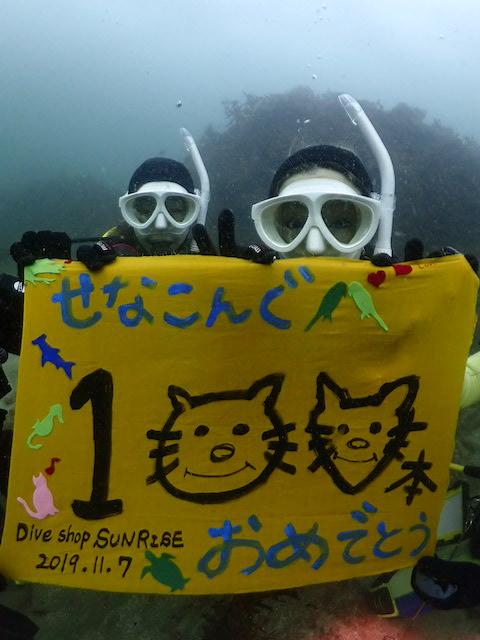 ダイブショップサンライズ 福岡でダイビング