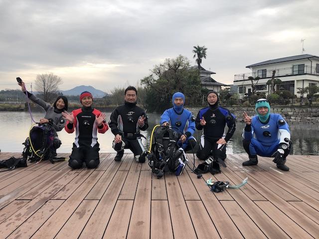 ダイブショップサンライズ 熊本嘉島町湧水公園