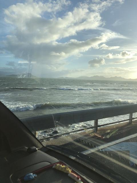 ダイブショップサンライズ 志賀島 台風