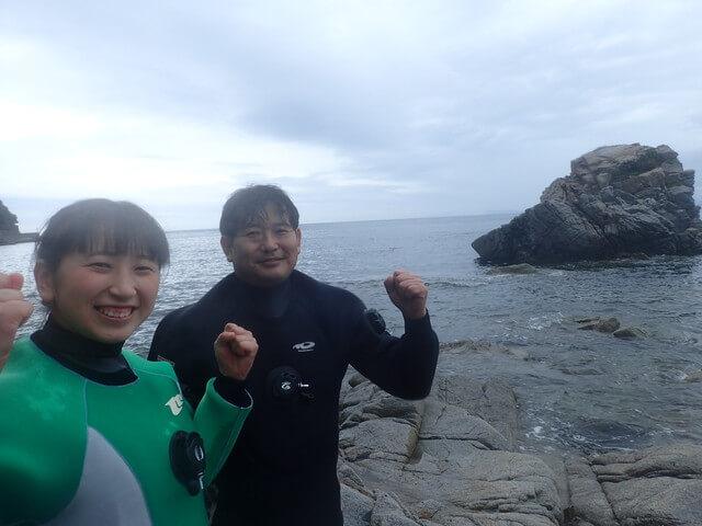ダイブショップサンライズ 志賀島 ダイビング