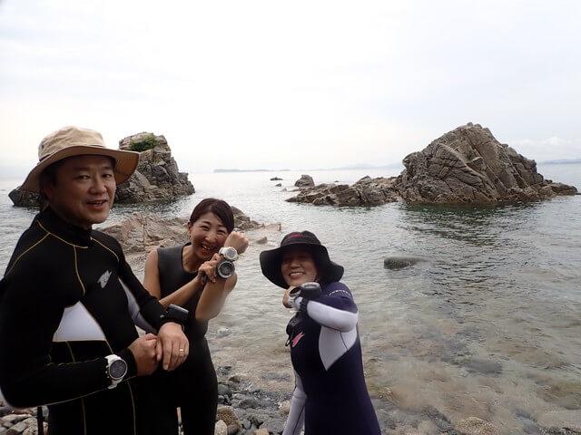 ダイブショップサンライズ 志賀島 ナビ講習