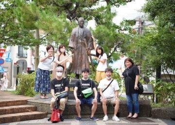 長崎の遊郭付近